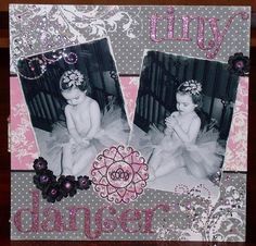 Gorgeous scrapbook page!