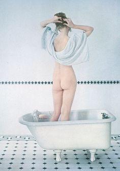 Girl in Bath by Irving Penn, 1951