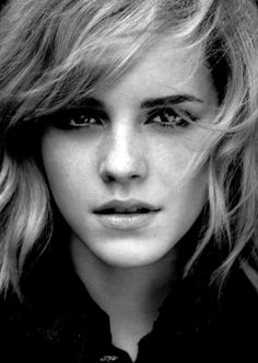 Emma Watson . . . gorgeous and very talented young English actress.