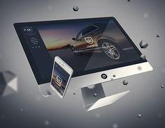 Car Detailing, Portfolio Design, New Work, Cosmetics, Website, Cards, Behance, Check, Wordpress Theme