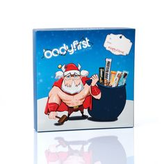 Christmas Selection Box digitally printed by esmark finch for Bodyfirst Nutrition Selection Boxes, Family Guy, Packaging, Nutrition, Digital, Prints, Christmas, Fictional Characters, Navidad