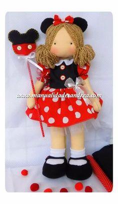 Moldes en Venta Mouse Crafts, Felt Crafts, Girl Dolls, Baby Dolls, Dress Up Dolls, Sewing Dolls, Doll Tutorial, Waldorf Dolls, Soft Dolls