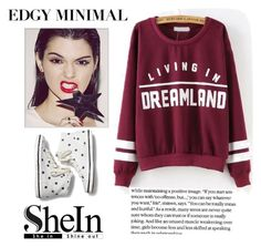 """SheIn Edgy Minimal"" by iknewherwhen on Polyvore featuring Keds, women's clothing, women's fashion, women, female, woman, misses and juniors"