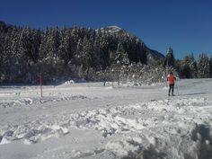 Auf die Plätze, fertig und los auf die wunderschönen#Loipen im bayrischen Oberland...