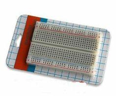 Mini Solderless Breadboard Bread Board 400 Contacts Available Test Develop DIY by Sunkee. $0.89