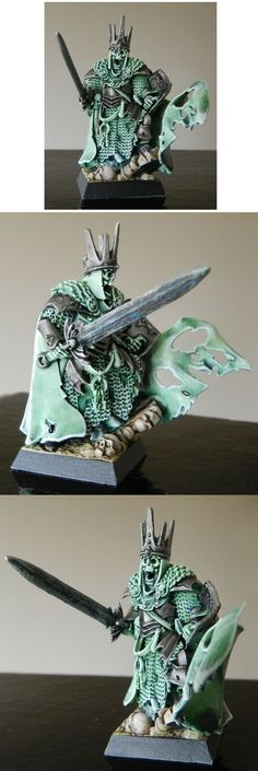 Vampire Counts Wight King...as a Vampire Counts player I have a certain affinity for nicely painted wights!