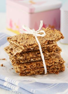 Homemade Crackers, Danish Food, Lchf, Soups And Stews, Vegetarian Recipes, Brunch, Food And Drink, Low Carb, Gluten Free