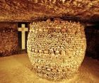 One of the spookiest spots in the world , the catacombs of Paris is the resting place of millions of poor souls who were taken from their original resting places and moved here , where they are all sandwiched in and exposed to the outside world. There is no wonder then that mysterious things have happened in this place , that many visitors capture ghosts in their  photos and that brave  adventurers who come alone in this place never get to see the sunlight again