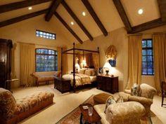 Lovely Bedroom, Clay House, Aspen, Colorado..