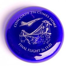 Concorde Final Flight Paperweight