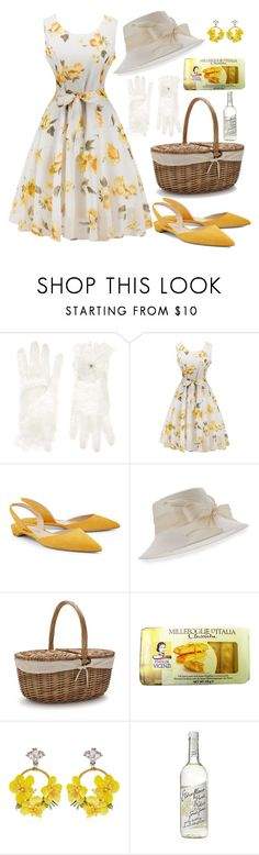 """""""Untitled #367"""" by mydntkrl ❤ liked on Polyvore featuring Monsoon, Paul Andrew, Marzi, Sur La Table and VANINA"""