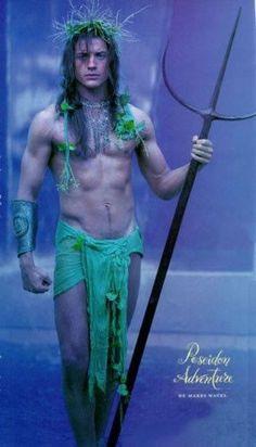 """Brendan Fraser as Poseidon - Premiere magazine - August """"Myth Demeanor"""" - photos by Bob Frame"""