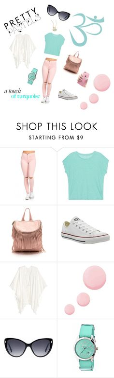 """""""Bez naslova #15"""" by munevera-berbic ❤ liked on Polyvore featuring Majestic Filatures, Converse, Topshop, Gucci and Crayo"""