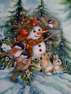 Snowman by Jody Bergsma