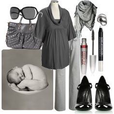 grey/black (comfortable pants :p )
