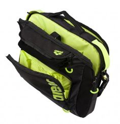 Arena Fast Coach Bag - Black/Lime