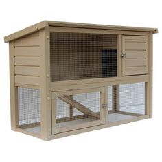 New Age Pet New Age Pet ecoChoice Columbia Rabbit Hutch