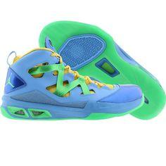 Jordan Men Melo M9 (university blue / psn green / vivid blue / blitz) 551879-415 - $139.99