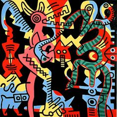 keith herring images | Keith Haring Mom