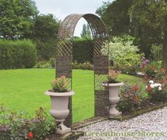 Rowlinson Willow Cottage Arch  http://www.greenhousestores.co.uk/Rowlinson-Willow-Cottage-Arch.htm