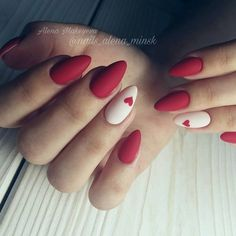 Semi-permanent varnish, false nails, patches: which manicure to choose? - My Nails Nails Yellow, Red Nails, Oval Nails, Bling Nails, Maroon Nails, Red Nail Art, Almond Acrylic Nails, Pink Acrylic Nails, Pastel Nails