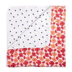 muslin-baby-blanket-red-orange-blue-flowers