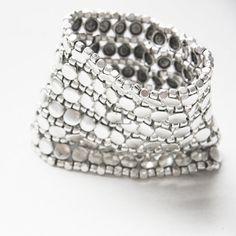 Silver Cuff Bracelet | Etsy