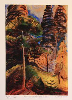 Emily Carr -  Forest Landscape