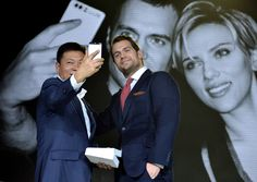 Henry Cavill Photos Photos - Richard Yu, Chief Executive Officer of Huawei Cunsumer Business Group and Henry Cavill attend the Huawei P9 global launch at Battersea Evolution on April 6, 2016 in London, England. - Henry Cavill at The Huawei P9 Global Launch in London