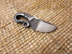 Hand Forged knife-pendant Viking by FoxxCraftSmithy on Etsy