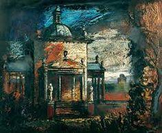 ✽ john piper - 'castle howard: temple and mausoleum' - your paintings project - bbc Urban Landscape, Landscape Art, Landscape Paintings, Landscapes, Edward Hopper, John Piper Artist, 20th Century Painters, Castle Painting, Castle Howard