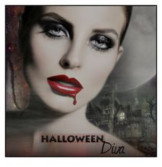 """""""Halloween Diva - Contest"""" by necyluv ❤ liked on Polyvore featuring art"""