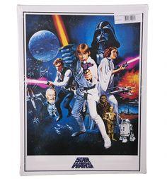 Star Wars A New Hope Canvas Print 30 x 40cm