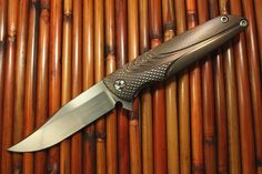 Pacific Edge Cutlery - Brian Nadeau Typhoon Bowie Flipper *Best Tactical Folder* Blade Show 2014, $950.00 (http://www.pacificedgecutlery.com/custom-knives/brian-nadeau-typhoon-bowie-flipper-best-tactical-folder-blade-show-2014/)