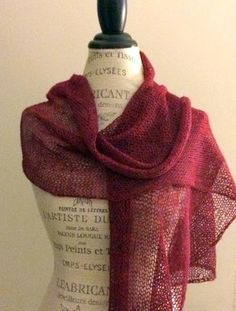 Ethereal Shawl Free Knitting Pattern — NobleKnits Knitting Blog