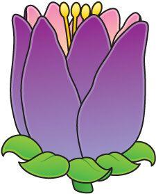 388 best clip art flowers images on pinterest in 2018 flower art flower mightylinksfo