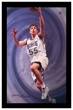 Jason ''White Chocolate'' Williams. Jason Williams, Jason White, Sacramento Kings, White Chocolate, Basketball, Baseball Cards, Netball