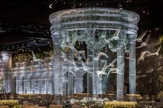Scenographic tableau by Edoardo Tresoldi & DesignLab, Abu Dhabi – UAE » Retail Design Blog