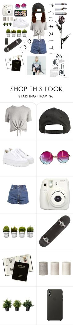 """""""Untitled #34"""" by shahdmil ❤ liked on Polyvore featuring Hippie Chic, Billabong, MM6 Maison Margiela, Janis, Fujifilm and Apple"""