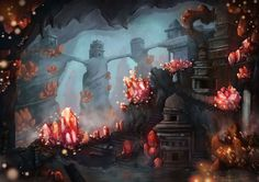 Crystal Cave by ~kevywk on deviantART