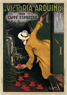 Victoria Arduino Poster The Long History of the Expresso Machine - Smithsonian Magazine, June 19,2012