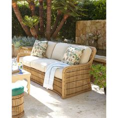 Rafter Outdoor Sofa ($3,795) ❤ liked on Polyvore featuring home, outdoors, patio furniture, outdoors patio furniture, outdoor patio furniture, outside patio furniture, outdoor settee and outdoor furniture