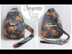 Cheyenne Rope Bag How to With Pins + Needles Kits | Whitney Sews - YouTube