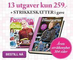 Dagens gratisoppskrift: Høstvarmere   Strikkeoppskrift.com