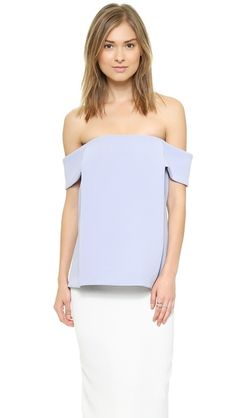Whistles Tori Off the Shoulder Top Whistles Tops, Layered Look, Off Shoulder Tops, My Outfit, Style Me, Ideias Fashion, Summer Outfits, Girls Dresses, How To Wear