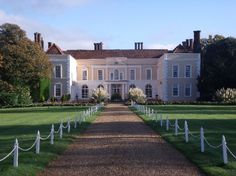 Hintlesham Hall Hotel on a sunny Autumn day - Hintlesham Hall Hotel wedding venue in Hintlesham, Ipswich, Suffolk Unusual Wedding Venues, Country House Wedding Venues, Hotel Wedding Venues, Beautiful Wedding Venues, English Manor Houses, Ipswich Suffolk, Beautiful Places, Wedding Things, Wedding Stuff