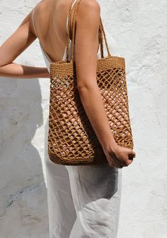 Crochet Summer Tote Etsy Ideas For 2019 Bag Crochet, Crochet Handbags, Filet Crochet, Crochet Summer, Summer Tote Bags, Diy Tote Bag, Bag Women, Diy Accessoires, Net Bag