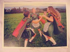 Vintage St Patricks Day Decoration Photo Art Print Poster Ireland Lucky Irish #Vintage