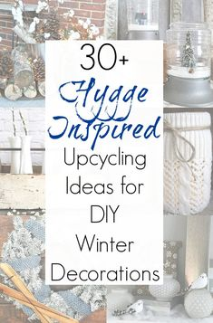 """Decorating your home after the holidays can often be a challenge, and the winter season seems so """"blah"""" after all those Christmas colors. But let me assure you that winter is the PERFECT time of year to turn your home into a cozy oasis inspired by Winter Diy, Winter Home Decor, Winter House, Winter Decorations, Fall Decor, Decoration Crafts, Cozy Winter, Winter Ideas, Marvin"""