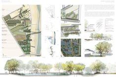 landscape presentation board - Google Search